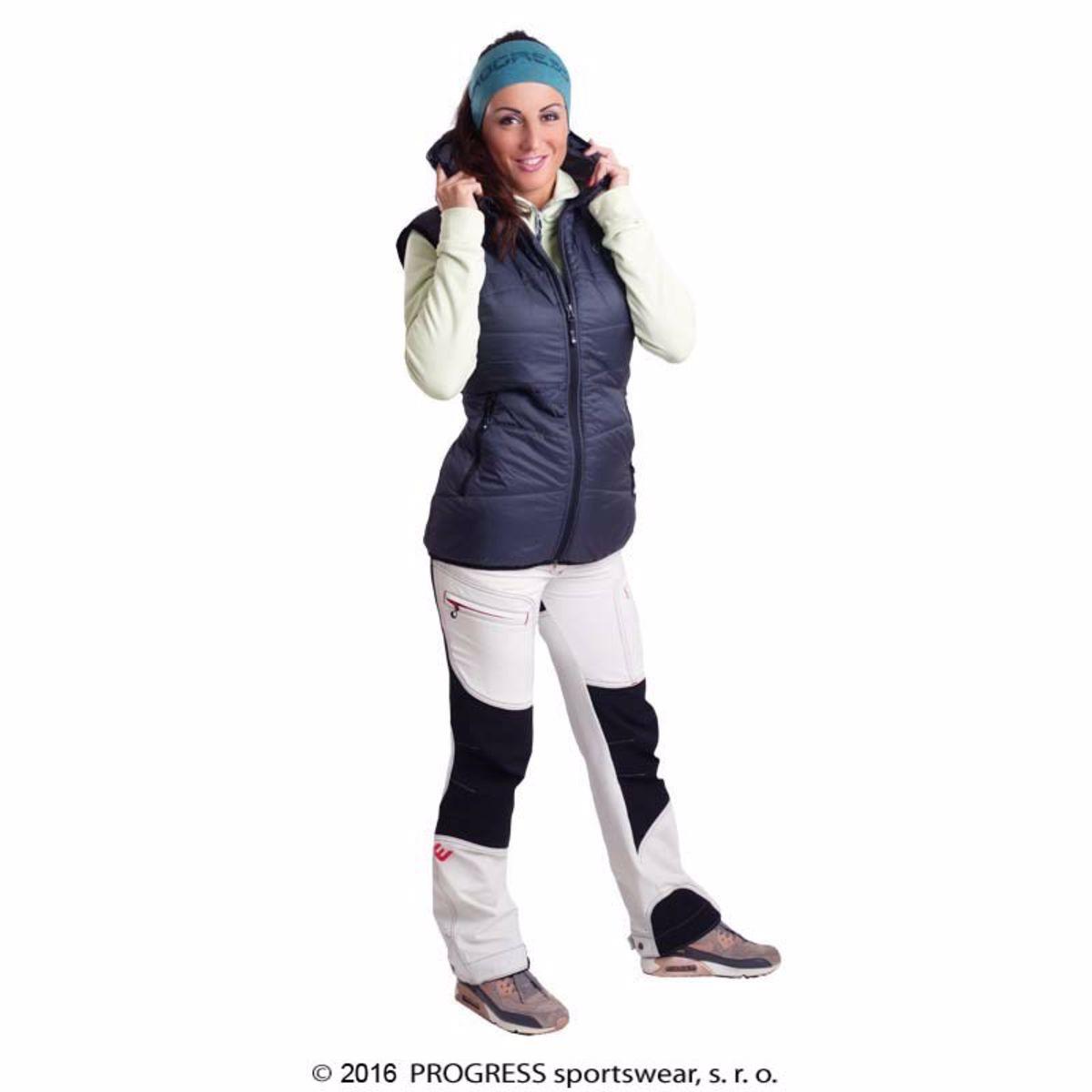 812ac7fef18b Progress OS MIRI dámska zateplená vesta s kapucňou